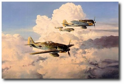 Gathering Storm by Robert Taylor (Fw190)