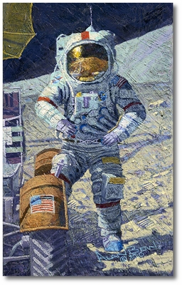 Getting Ready to Ride by Alan Bean