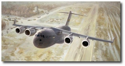 Global Workhorse by Keith Ferris (C-17)