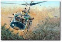 Good Vibrations by Joe Kline (UH-1 Huey)