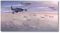 Guardian Angels by Jim Laurier (P-51 Mustang)