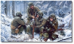 Hang Tough, Bastogne 1944 by John Shaw (Secondary)