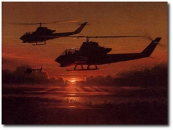 Heading for Trouble by William S. Phillips (AH-1 Cobra)