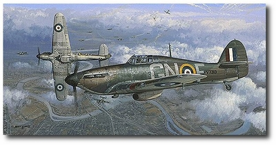 Height of the Battle by Philip West (Hurricane)