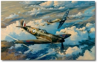 Height of the Battle by Robert Taylor (Spitfire)