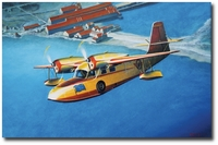 Hellen Over Larsen Bay by John Hume (Grumman Widgeon)