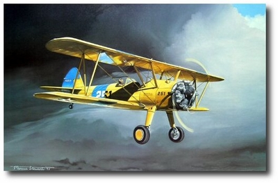 Here Comes the Sun by Marc Stewart (N2S-3 Stearman)