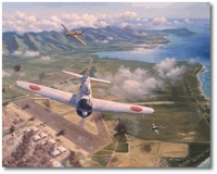 Hickham Field - Second Attack by Jim Laurier (Zero)