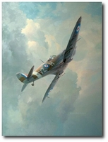 High Flight by Keith Ferris (Spitfire)