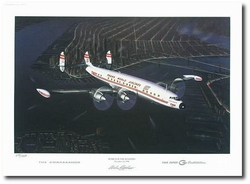 Home for the Holidays by Mike Machat (Lockheed Constellation - Secondary)