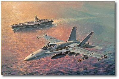 Hornet's Pass by Bryan David Snuffer (F-18)