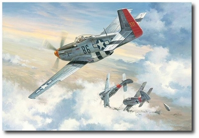 I'll Be Darned! by Roy Grinnell (P-51 Mustang)