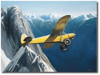In High Places by John Hume (Piper Super Cub)