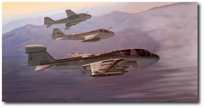 Into the Soup by Thomas Smith (EA-6B Prowler)