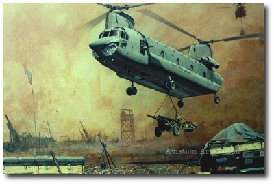 Iron Dance by Joe Kline (CH-47 Chinook)