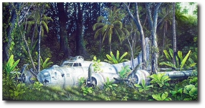 Jungle Fortress by Randy Nagle (B-17 Flying Fortress)