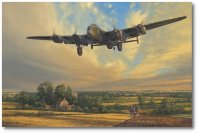King of the Air by Anthony Saunders (Lancaster)
