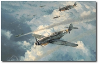 Knight of the Reich by Robert Taylor (Me109)