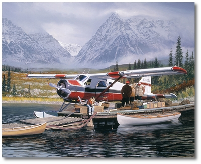 Last Chance by William S. Phillips (deHavilland Beaver)