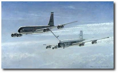 Last Chance Saloon by Ronald Wong (KC-135 & RC-135)