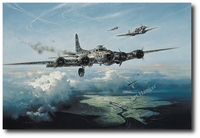 Last Man Standing by Heinz Krebs (B-17 Flying Fortress)