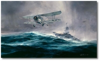 Launch Against the Bismarck by Robert Taylor (Swordfish)