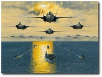 Leading the Fleet by K. Price Randel (JSF)