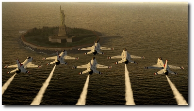 Liberty Pride by Thomas Smith (F-16 Fighting Falcons)