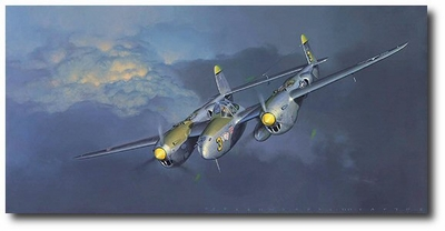 Lightning by Jack Fellows (P-38)