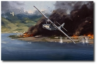 Lone Survivor by Jack Fellows (PBY Catalina)