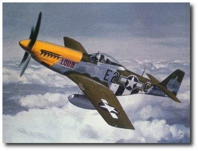 Lou IV by Roy Grinnell (P-51 Mustang)
