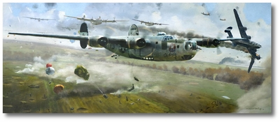 Low Level Run by Matt Hall (B-24 Liberator)