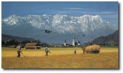 Low Pass for the Home Folks by William S. Phillips (Me109)