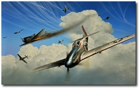 Masters of the Sky by Richard Taylor (P-51 Mustang)