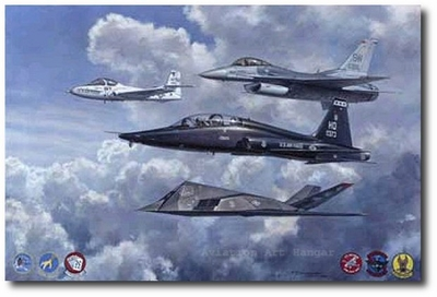 McCloskey's Career by Ronald Wong (F-111, T-38, F-16, T-37)