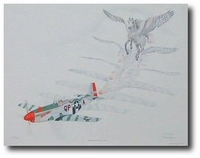 Metamorphosis V Man O' War by Jody Sjogren (P-51)