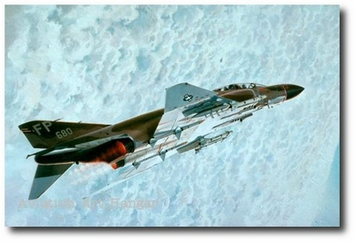 MiG Sweep by Keith Ferris (F-4 Phantom)