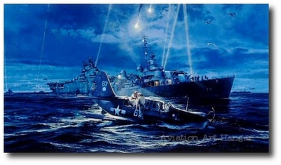 Mission Beyond Darkness by Robert Taylor (SB2C Curtis Helldiver)