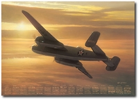 Mission Complete, The Journey Continues by William S. Phillips (B-25 Mitchell)