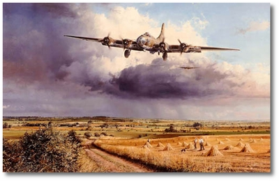 Mission Completed by Robert Taylor (B-17)