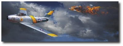 Mixing It Up by Thierry Thompson (F-86 Sabre)
