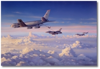 Motown Magic by Jim Laurier (KC-135, F-16C)