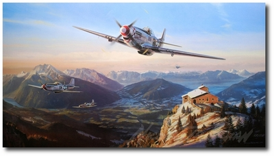 Mustangs Over the Eagles Nest by Nicolas Trudgian (Secondary)