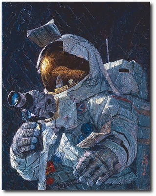 My Brother, Jim Irwin by Alan Bean