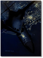 Night Ops by Darby Perrin (B-1 Lancer)
