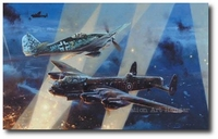 No Turning Back by Robert Taylor (Lancaster & Fw190)