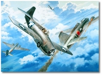 Number 20 for Joe by Roy Grinnell (F4F Wildcat)