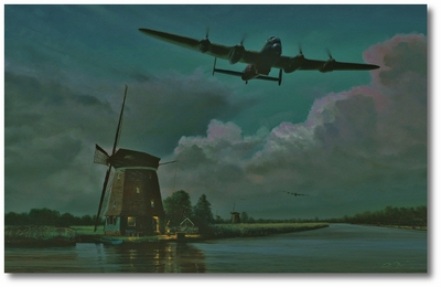 On Course for the Mohne Dam by Richard Taylor (Lancaster)