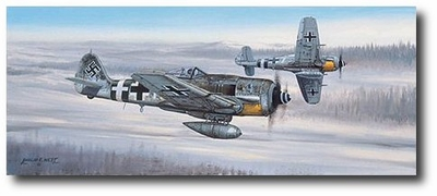 On the Prowl by Philip West  (Fw190)