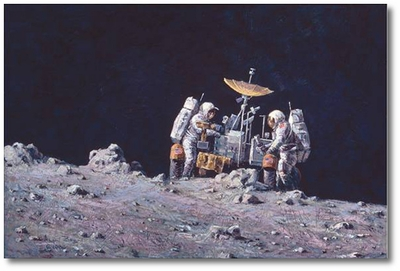 On the Rim by Alan Bean